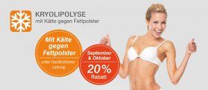 Kryolipolyse - mit Kälte gegen Fettpolster